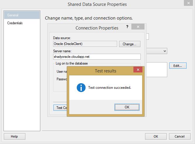 Conectarse a Oracle para Reporting Services – SQL Server en