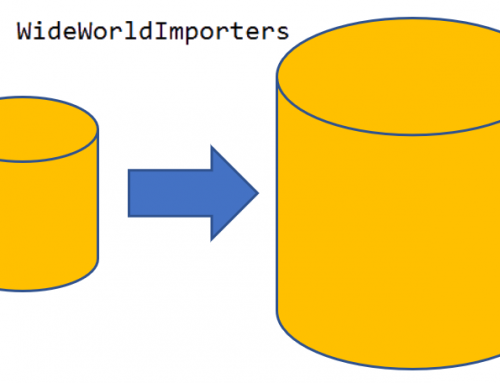 Como Generar Datos nuevos en WideWorldImporters